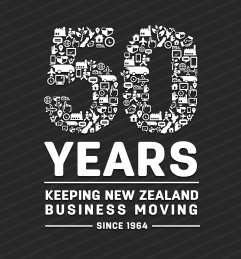 50 years - Keeping New Zealand business moving since 1964